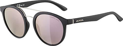 Alpina Unisex - volwassenen CARUMA II zonnebril, zwart mat, one size