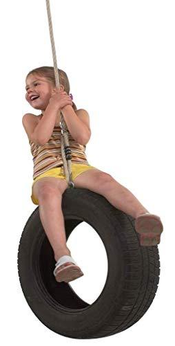Gartenpirat Vertikale Reifenschaukel mit Reifen