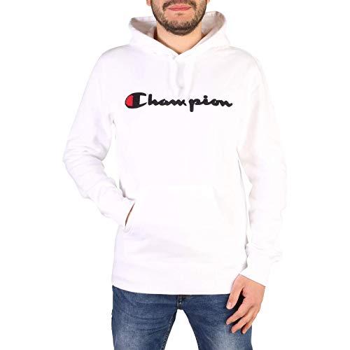 Champion Sweater Herren 213498 F19 WW001 WHT Weiss, Größe:XXL
