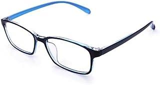 jcerki Blue Lightweight Frame Bifocal Clear Lens Reading Glasses 1.50 Men Women Fashion Light Bifocal Eyeglasses