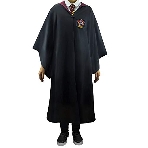 Cinereplicas - Harry Potter - Robe de Sorcier - Licence Officielle - Maison Gryffondor - M - Noir et Rouge
