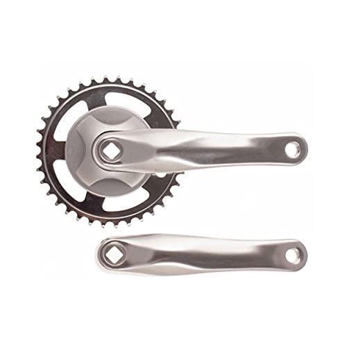 Biela Bicicleta 36 Dientes monoplato 1 Velocidad (Aluminio)