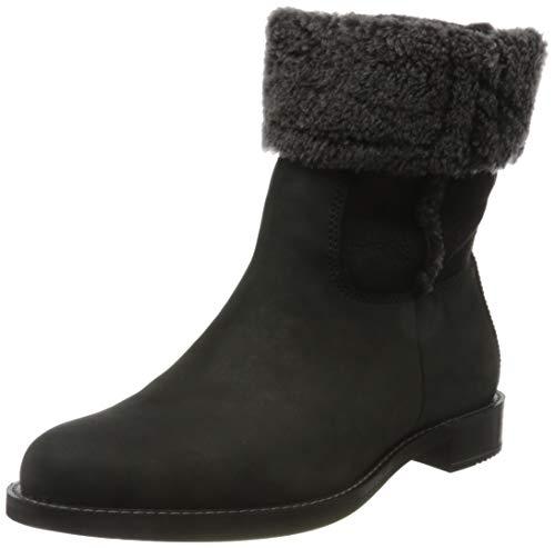 ECCO Damen Sartorelle 25 Black Black Fashion Boot Mid-cut Boot, Schwarz (BLACK/BLACK), 43 EU