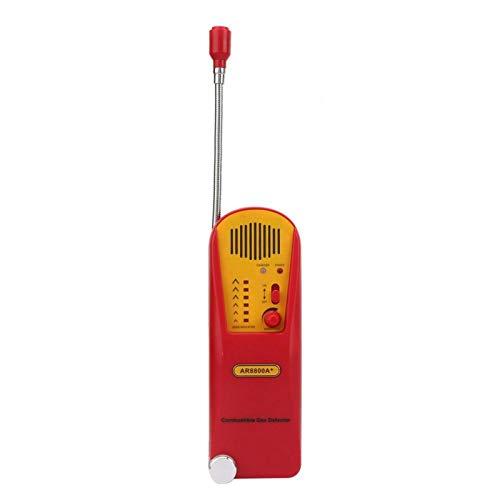 Detector de Gas LED de Dos Colores Que Indica AR8800A + Detector de Gas Combustible Detector de Gas inflamable para la Industria