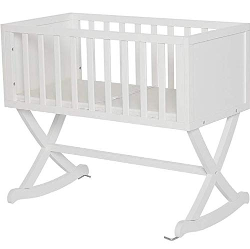 Best Price Baby Cradle in White