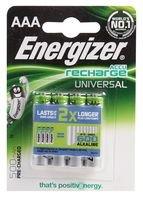 Energizer 638624Akku, Nickel Metall Hydrid, 500mAh, 1,2V, AAA