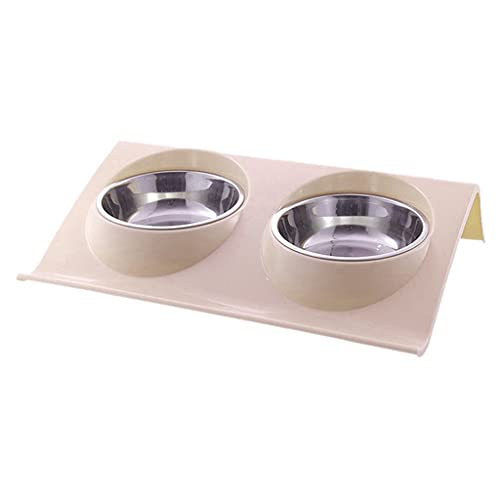 ZHGYD Pet Silica Gel Bowl Dog Collapsible Dog Bowl Pet Food Storage Bowls Outdoor Travel Portable Puppy Food Container Feeder Dish (Color : A)
