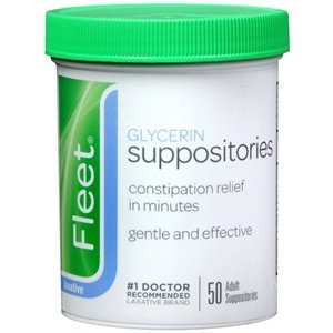 GLYCERIN SUPP ADULT FLEET 50EA by FLEET C.B. COMPANY