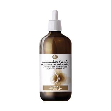 ALKEMILLA - Huile d'amande douce parfumée - Ambre - Bio - Nichel Tested - 250 ml