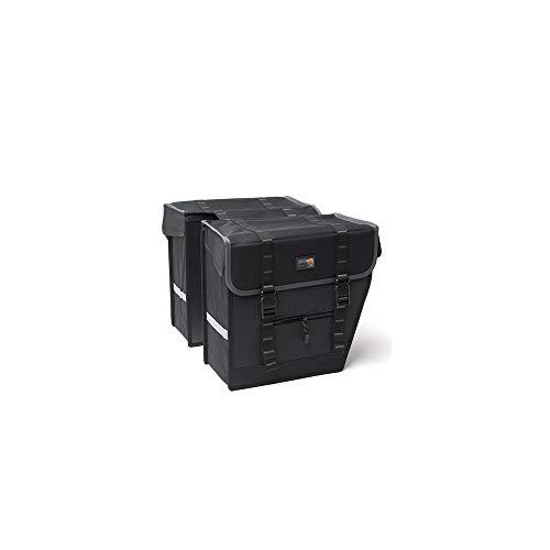 New Looxs Superior Maxi Basic Gepäckträgertasche, Schwarz, 36 x 32 x 18 cm