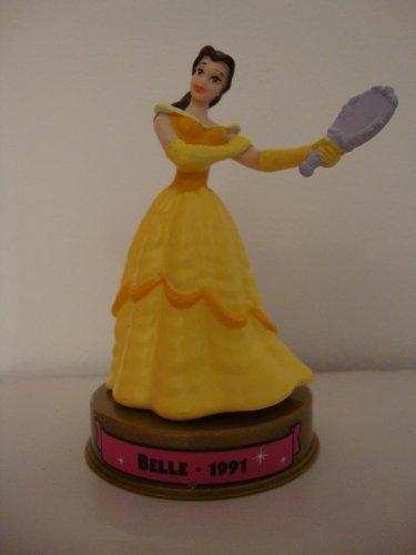 2002 Mcdonalds 100 Years of Disney Belle Figure Happy Meal Toy