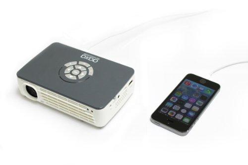 AAXA P450 Pico/Micro Projector with LED, WXGA 1280x800 Resolution, 450 Lumens, Pocket Size, HDMI, Mini-VGA, 15,000 Hour LED Life, Media Player, DLP Projector Photo #3