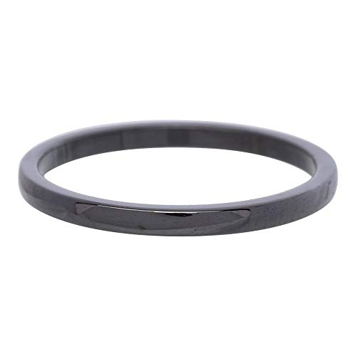 iXXXi Füllring KERAMIKRING SCHWARZ - 2mm Größe Ringgröße 18