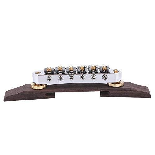 Guitar Bridge Solid Long Service Life Musical Instrument Accessory Rustproof,for Sg Lp Type Jazz Guitar,for Guitar