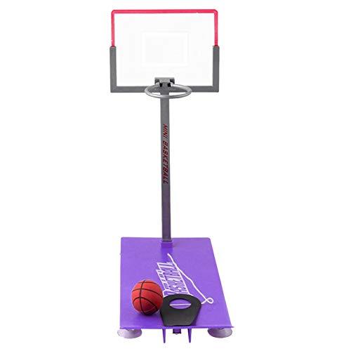 Mini juego de baloncesto portátil de escritorio plegable, para familia o diversión, juguetes de dedo, para niños