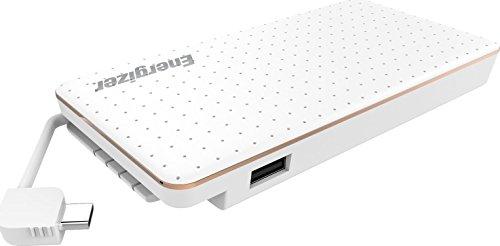Energizer USB-C kompakte Powerbank, externer Akku mit USB Type C Kabel und QuickCharge 3.0 mit 10000mAh für Huawei Mate 20/ Mate 20 Pro/ P20 / P20 Pro sowie Samsung Galaxy S9/S8 Serie und viele mehr
