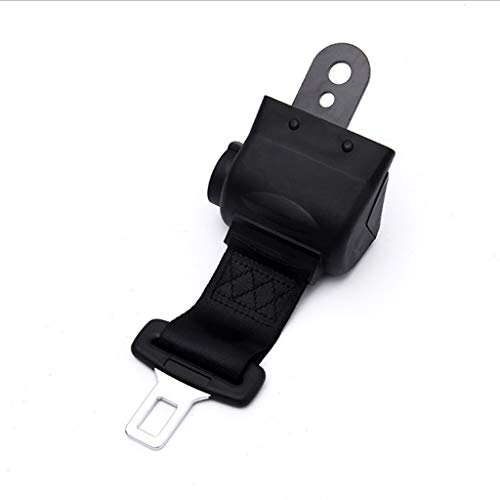 Best Prices! XDFS Car Seat Belts Semi-Closed Seat Belts Black Polyester Can be Adjusted Seat Belts A...