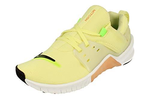Nike Women's Fitness Shoes, Multicoloured Luminous Green Black White Orange Trance 301, 5 UK