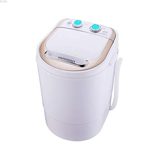 DBGS Kleine mini-wasmachine, familie, halfautomatische eenpersoons emmer met droger