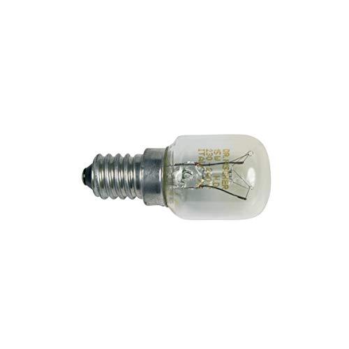 Bosch Siemens 602674 00602674 ORIGINAL Kühlschrankbirnchen Lampe Röhrenformlampe Glühbirne Glühlampe Gewindelampe Kühlgerätebirne E14 15W 230V Kühlschrank Gefrierschrank auch Neff Constructa Balay