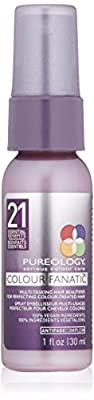 Pureology Colour Fanatic Leave-in Conditioner Hair Treatment Detangling Spray | Protects Hair Color From Fading | Heat Protectant | Vegan
