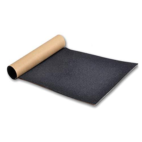 Leezo 1PC Skate Scooter Sandpapier Aufkleber perforiert Skateboard Deck Tape Skateboard Sand Papier Band 80cm * 20cm