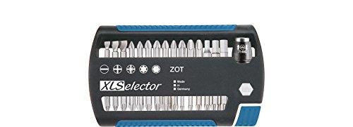 """Preisvergleich Produktbild Wiha XLSelector Torsion 31-teilig / Gemischtes Schrauberbit-Set mit Schnellwechselhalter und 25mm Bits / 1 / 4"""""""