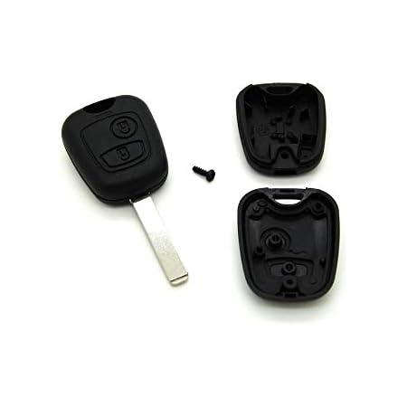 Citroën - Coque pour clé télécommande C1 C2 C3 C4 C5 + lame vierge clef