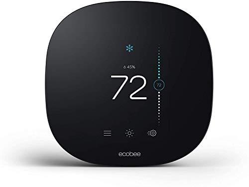 ecobee3 lite Smart Thermostat, Compatible with Alexa, 2nd Gen (Renewed)