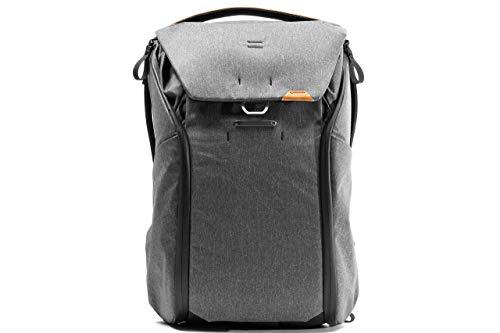 Peak Design Everyday Backpack V2 Foto-Rucksack 30 Liter Dunkelgrau mit Laptopfach und Tablet-Einschüben (BEDB-30-CH-2)