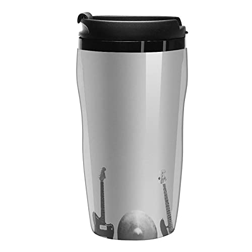 Outdoor Coffee Cup Vacuum Insulated Musical Instrument Pc Plastic Water Bottle Sport 8.5oz