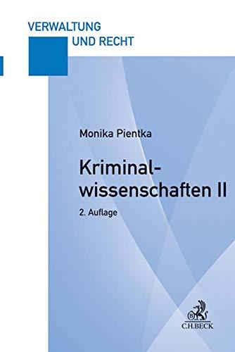 Kriminalwissenschaften II: Hauptstudium 1