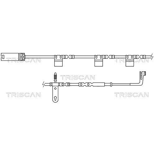 Triscan Can Contact d'avertissement, verschleiãÿanzeiger, 8115 17013