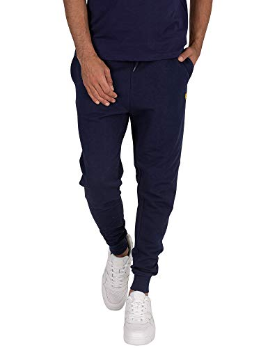 Lyle & Scott Skinny Sweatpant Pantalon de Sport, Bleu (Navy Z99), W32 (Taille Fabricant: Medium) Homme