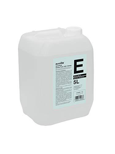 Eurolite Smoke Fluid -E2D- Extrem 5 Liter | Nebelfluid für Nebelmaschinen | Hohe Dichte und lange Standzeit | Made in Germany | Geruchsneutral auf Wasserbasis | Biologisch abbaubar