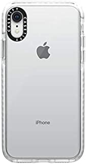 Casetify Impact Case, Military-Grade Dual-Layer Shockproof Protective Case for iPhones, iPhone XR, White