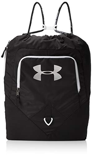 Under Armour UA Undeniable Sackpack Bolsa de Equipaje, Unisex Adulto, Negro (Black/White 001), Talla única