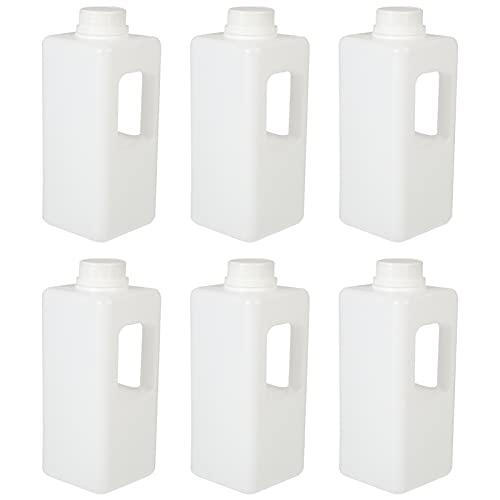 Hemoton 6 Uds. Botella de Agua de Cartón de Leche a Prueba de Fugas Botella de Agua Portátil Reutilizable con Forma de Cartón de Leche Botella de Jugo Fitness Gimnasio
