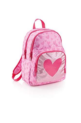 Agatha Ruiz De La Prada Miquelrius Lurex Kinder-Rucksack 42 centimeters 23 Pink (Rosa)