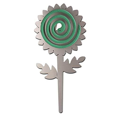 Porta Zampirone in Metallo a forma di fiore