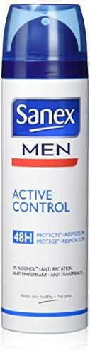 Sanex - Desodorante spray para hombre, 200 ml, paquete de 2
