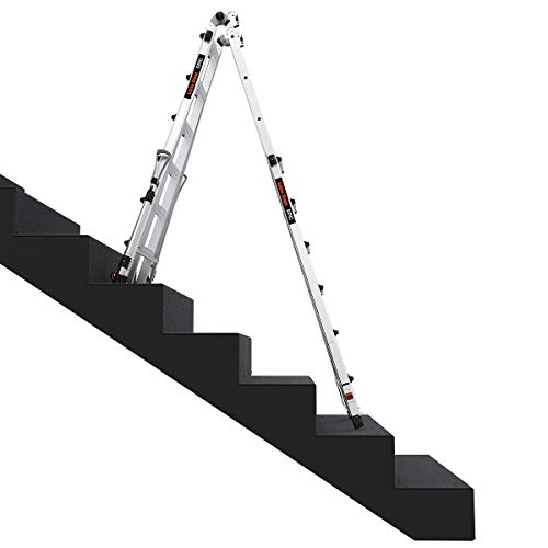 Little Giant Ladders, Epic, M26, 26 foot, Multi-Position Ladder, Aluminum, Type 1A, 300 lbs weight rating, (16826-818)