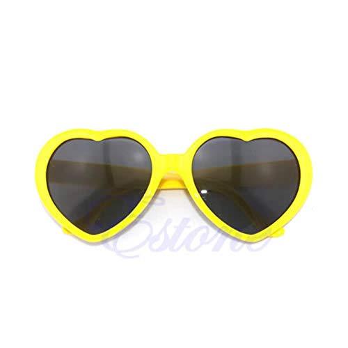Gbc-Type Creatieve zonnebril, hartje voor dames, retro zomer, carina, zonnebril voor dames