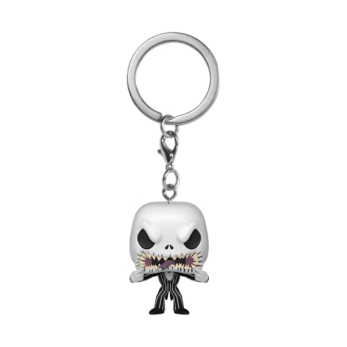 Funko Pop! Keychain: Nightmare Before Christmas - Jack (Scary Face)