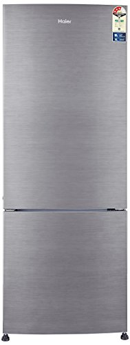 Haier 320 L 3 Star Frost Free Double Door Refrigerator(HRB-3404BS-R/HRB-3404BS-E, Brushline silver,...