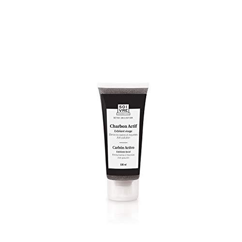 Soivre Cosmetics, Exfoliante facial (Carbón Activo) - 100 ml.