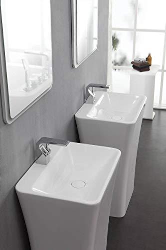 KZOAO Colonne de Sortie de Bain à Laver II + Miroir