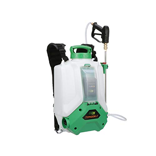 FlowZone Typhoon 2 Lithium-Ion Battery Powered 4-Gallon Backpack Sprayer (Dual-Pressure)