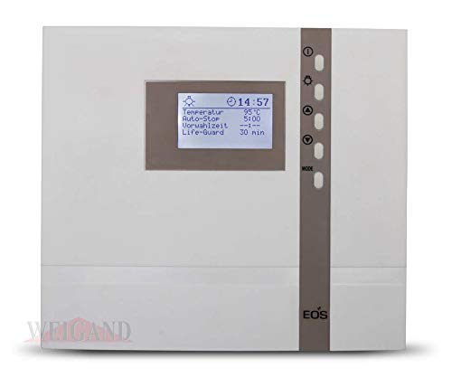 EOS Saunastseuerungen der ECON Serie für rein finnische Saunaöfen als auch Saunaöfen mit Verdampfer Bi-O Funktion, tausendfach bewährt I ECON D1 D2 D3 D4 H1 H2 H3 H4 I direkt von Weigand Wellness (ECON D2)