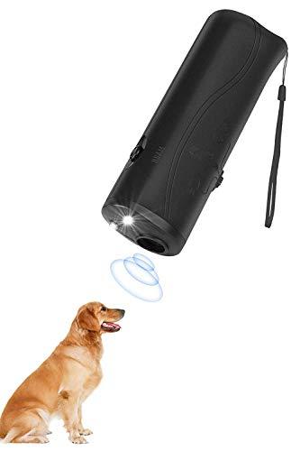 Lybrist Ultrasonic Dog Bark Deterrent & Handheld Anti Barking Repeller Training Gadget for Pets and Dog Trainer & Dog Barking Control Devices